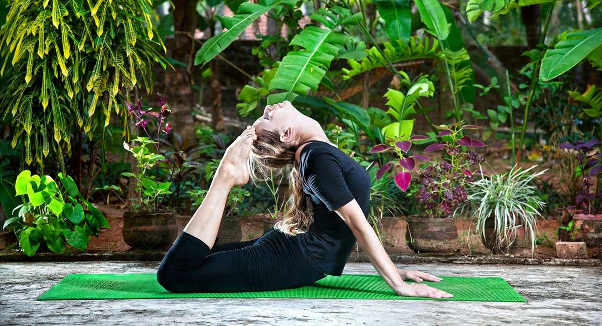 yoga haende